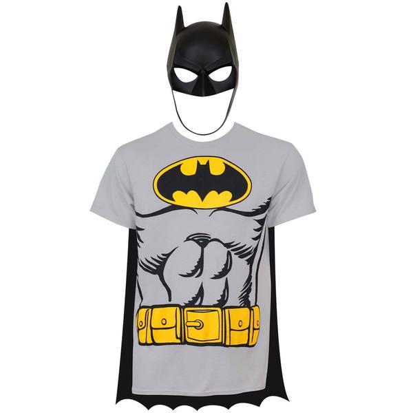 Batman Cape And Mask Costume T-Shirt