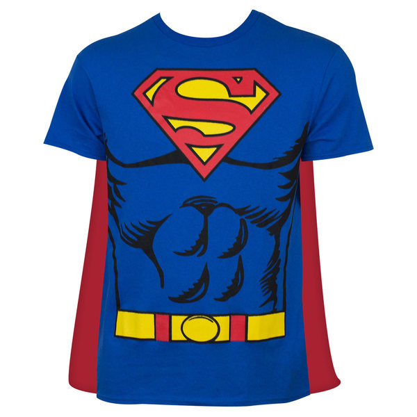 Superman Cape Costume T-Shirt