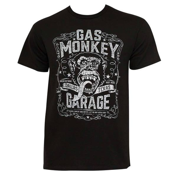 Gas Monkey Garage Dallas Texas T-Shirt