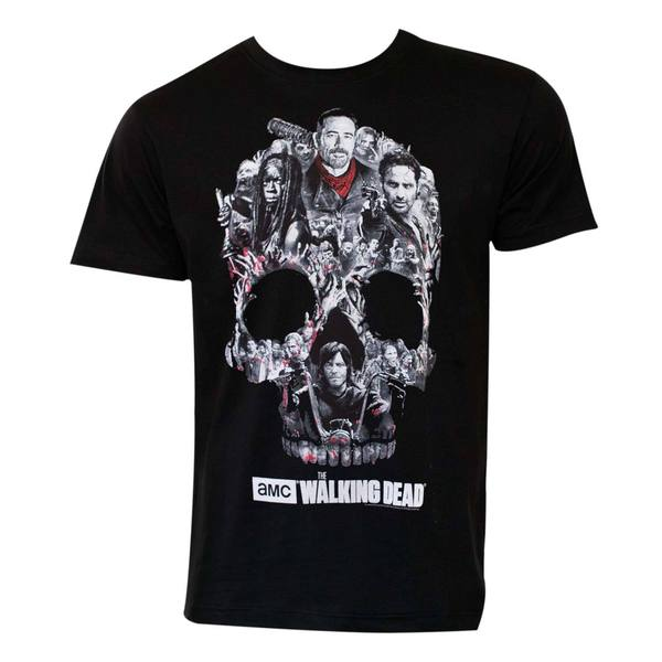 The Walking Dead Skull Logo T-Shirt 21254865