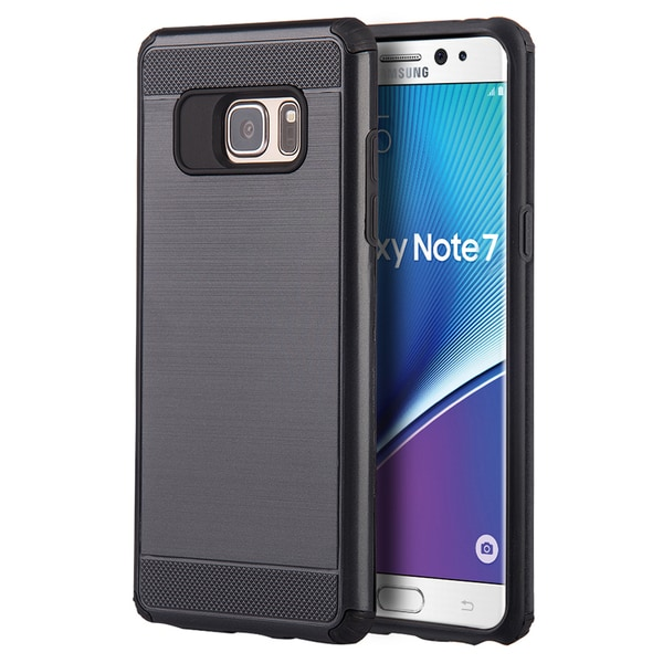 Silkee Armor Polycarbonate and Thermoplastic Polyurethane Anti-shock Dual-hybrid Case for Samsung Galaxy Note 7