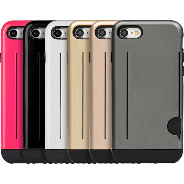 Black TPU Apple Iphone 7 Hybrid Case