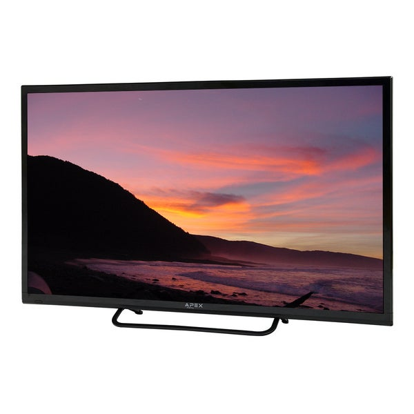 Refurbished APEX LE32D5DVD Black 32-inch LED TV With Built-in DVD