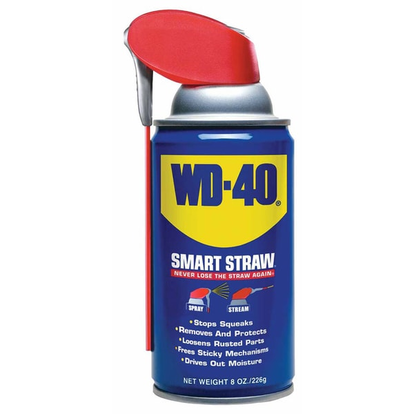 WD-40 49002 8 Oz WD-40 With Smart Straw