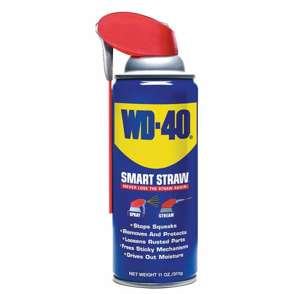 WD-40 49004 11 Oz WD-40 With Smart Straw