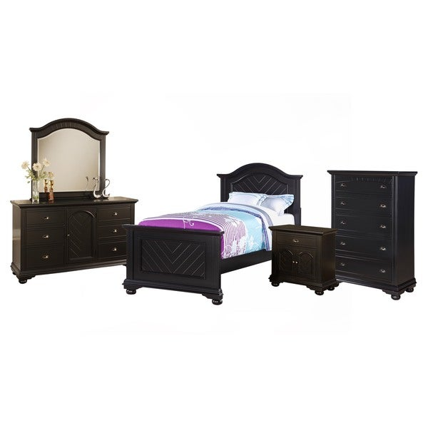 Picket house Addison Black Twin 5PC Set