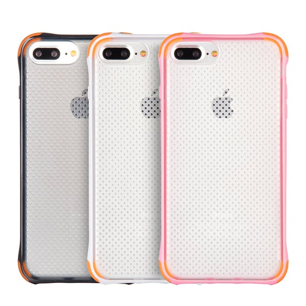 White/Black/Pink TPU Shockproof Case for Apple iPhone 7