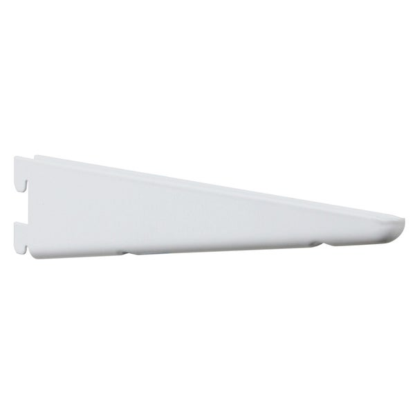 "Knape & Vogt 182 WH14.5"" 14-1/2"" White Shelf Brackets"