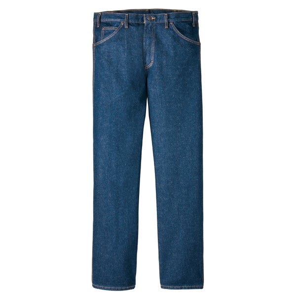 Dickies 9393RNB Indigo Blue Straight Leg Work Jeans