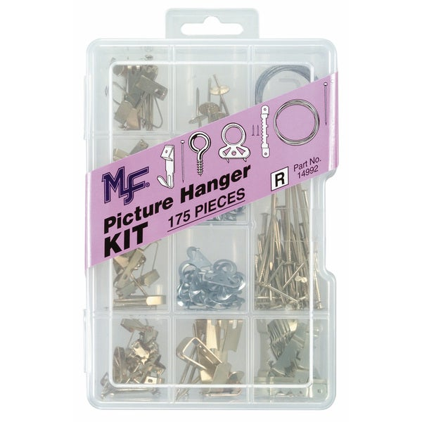 Midwest Fastener 14992 Picture Hanger Assortment Kit