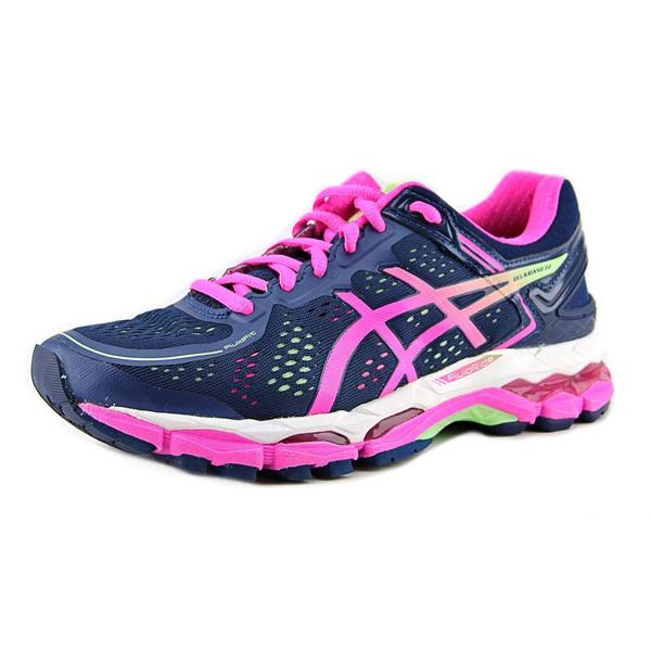Asics Women's Gel-Kayano 22 Blue Mesh Athletic Shoes