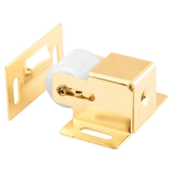 "Prime Line U9047 3/4"" Brass Plated Steel Roller Catch"