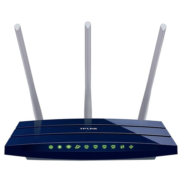 TP-LINK TL-WR1043ND V2 Wireless N300 Gigabit Router, 300Mbps, USB por (As Is Item)