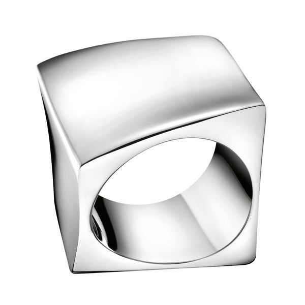 Calvin Klein Women's Stainless Steel Slant Fashion Ring 21269875