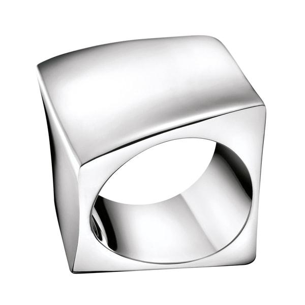 Calvin Klein Women's Stainless Steel Slant Fashion Ring 21269874