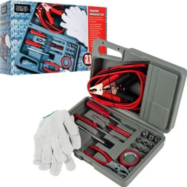 Roadside Emergency Assistance Car Repair Tool Kit (Case of 31)
