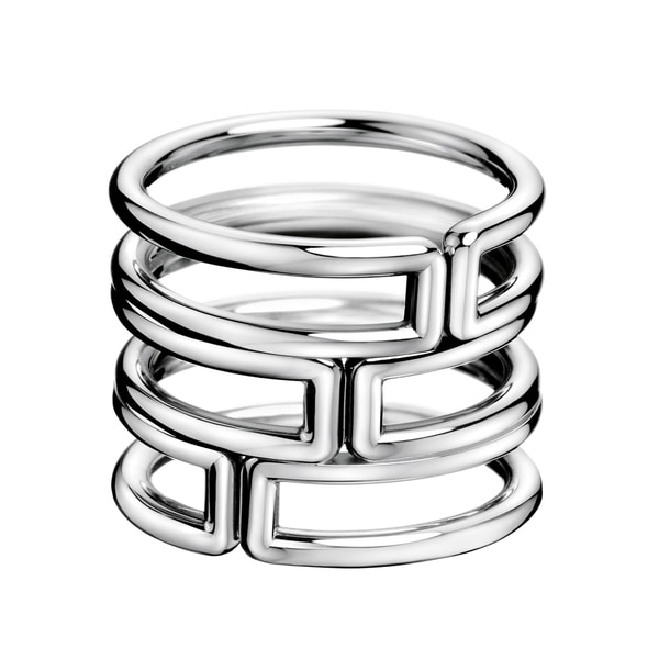 Calvin Klein Stainless Steel Women's Modern Fashion Ring