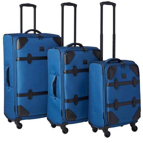 Diane Von Furstenberg Julie 3-piece Expandable Spinner Luggage Set