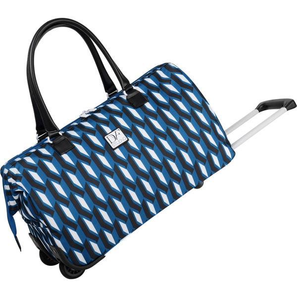 Diane Von Furstenberg Lilah 20-inch Carry-on Rolling Weekender Duffel Bag