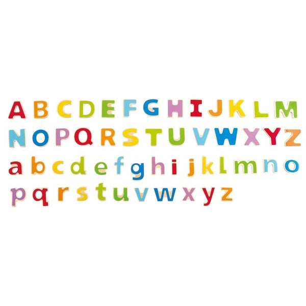 Hape Unisex Kids' Wooden ABC Magnetic Letters