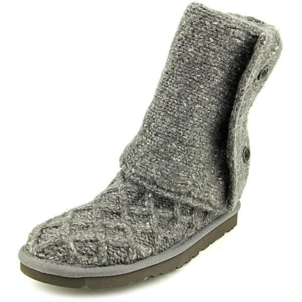 Ugg Australia Women's Lattice Cardy Grey Basic Textile Boots