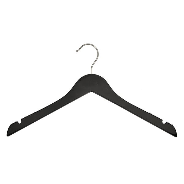 Black Wooden Shirt Hanger