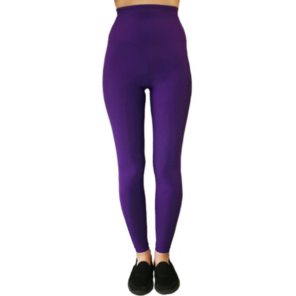 Proskins SLIM Purple Moisturizing High-waist Compression Leggings
