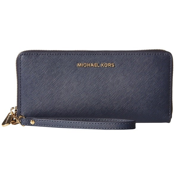 Michael Kors Jet Set Travel Admiral Blue Continental Wallet