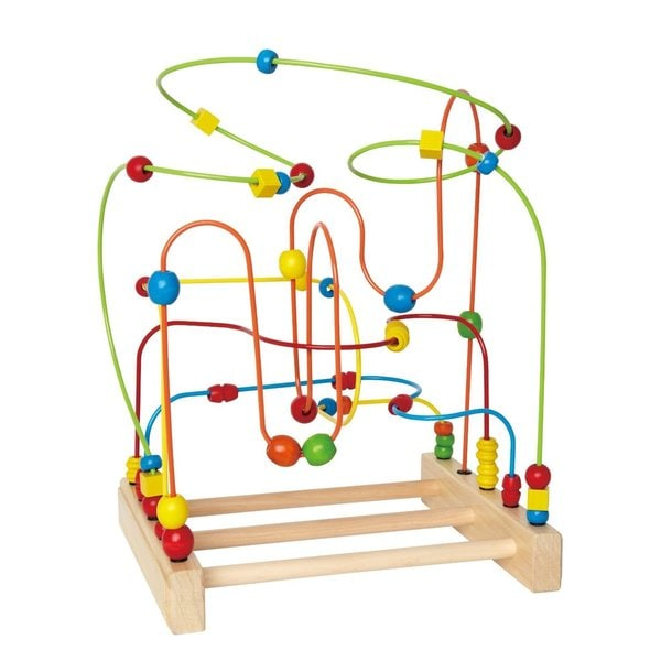 Hape Original Supermaze Unisex Multicolor Bamboo Play Set