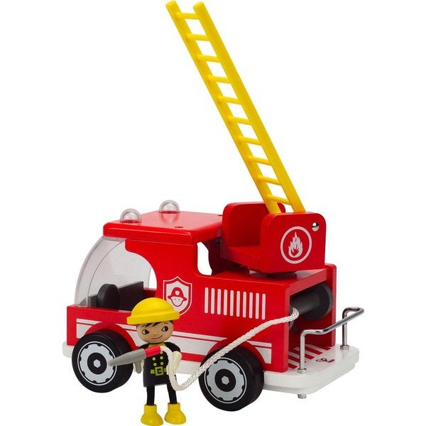 Hape Big Red Fire Truck