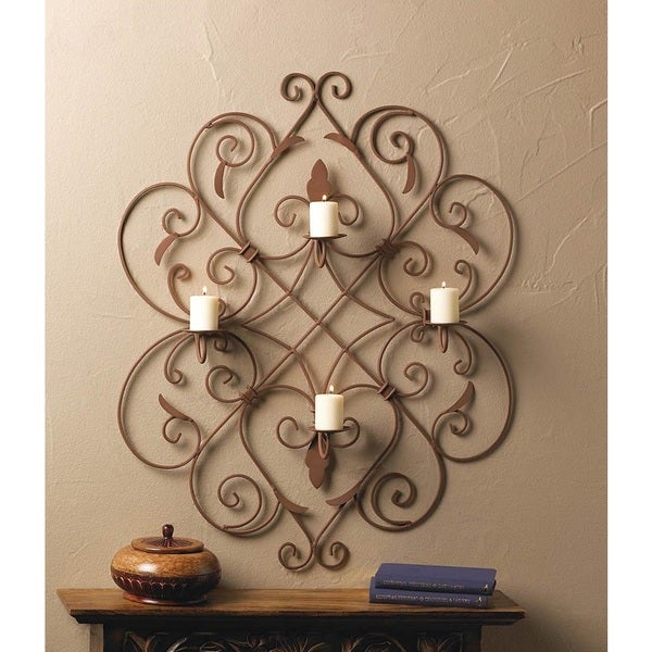 Willoughby Hanging 4-Candle Sconce