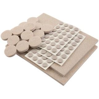 Assorted Felt Furniture Floor Protector Pads Pack Of 152