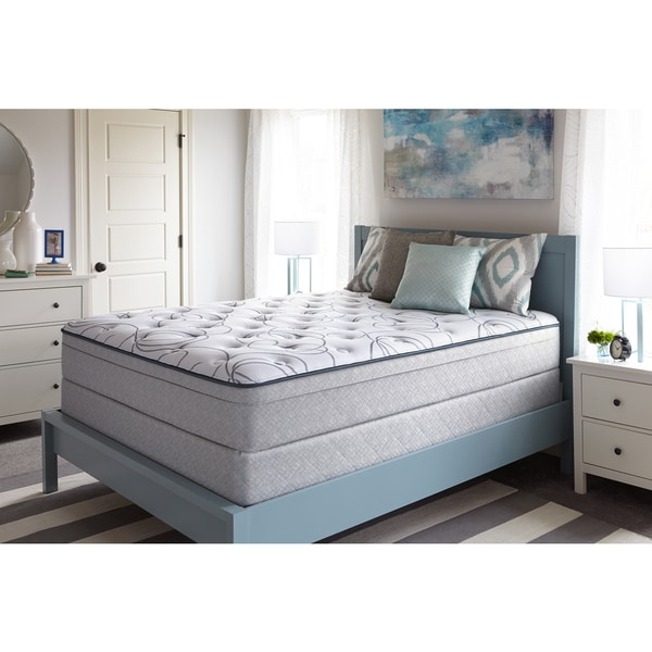 Sealy Madison Cafe Plush Euro Top Queen-size Mattress Set