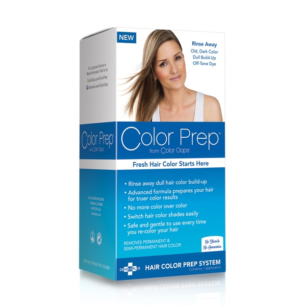 Color Oops Color Prep Hair Color Build-Up Treatment