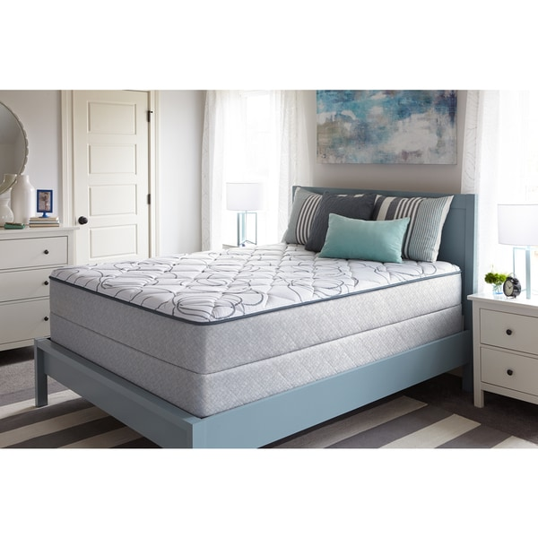 Sealy Overcrest Firm Queen-size Mattress Set