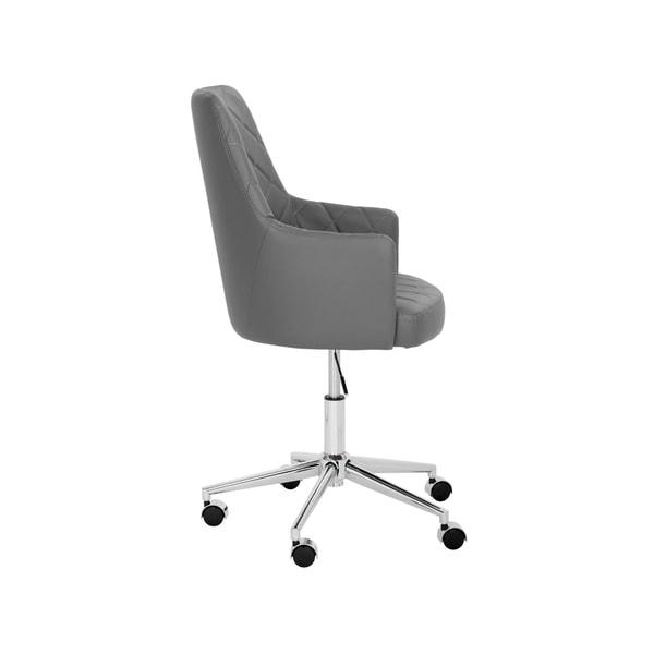 Sunpan Chase Black Office Chair