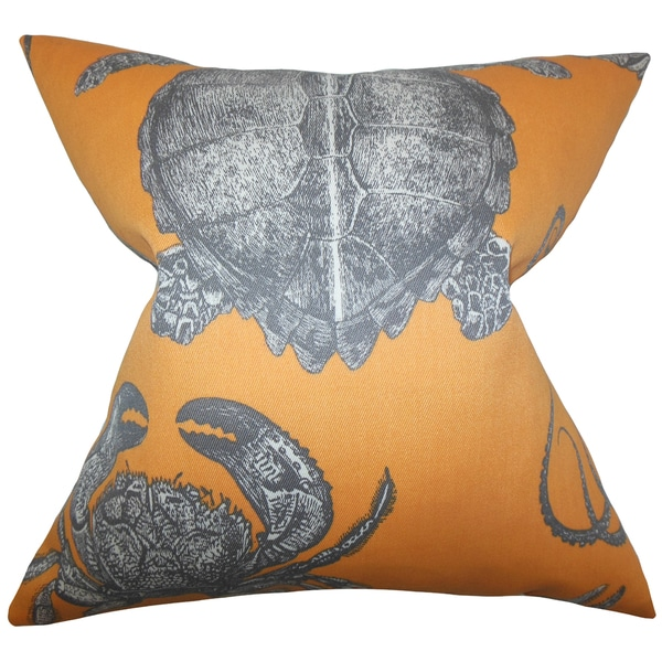 Aeliena Coastal Euro Sham Orange