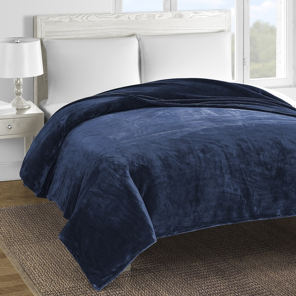 Comfy Bedding Double-layer Fleece Bed Blanket