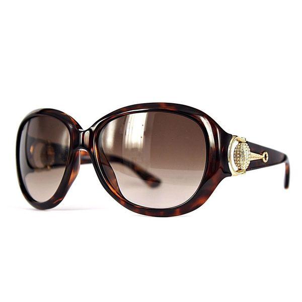 Gucci Womens GG3712/N/S 0LSD Brown Rectangular Sunglasses