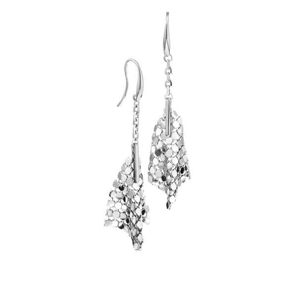 Isla Simone - Fine Silver Plated Specchio Small Cone Earring