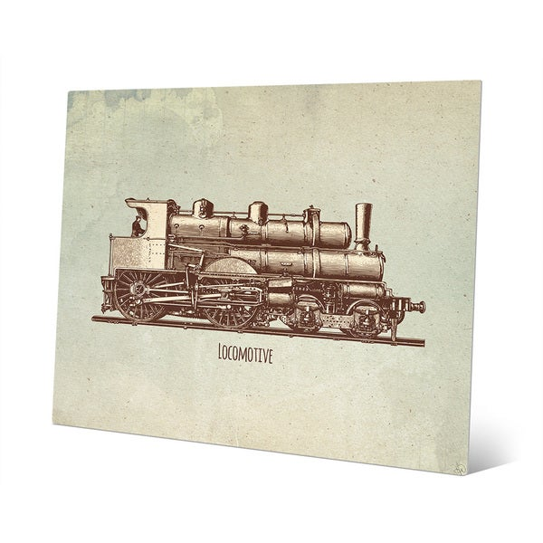 Locomotive Metal Wall Art