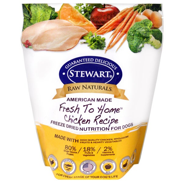 Raw Naturals Chicken Recipe Freezer Dried Dog Food