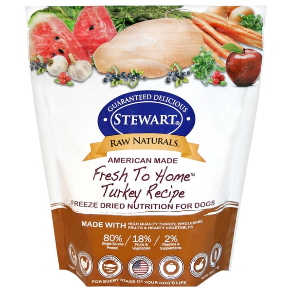 Raw Naturals Turkey Recipe Freezer Dried Dog Food