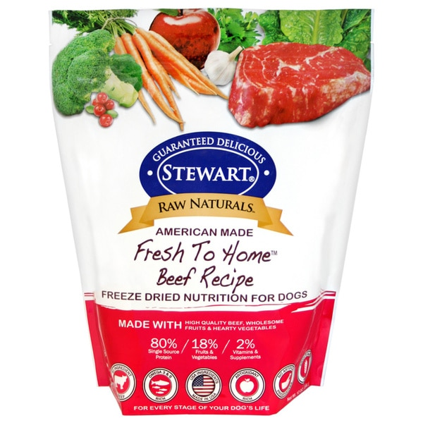 Raw Naturals Beef Recipe Freezer Dried Dog Food