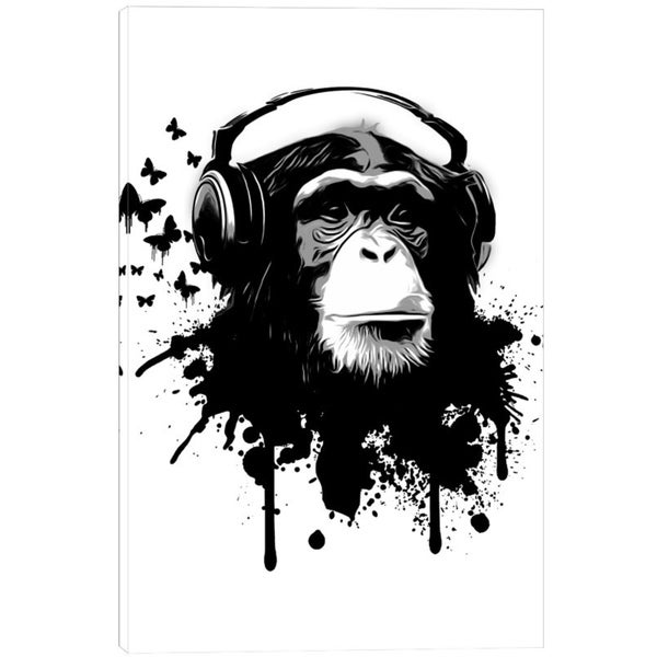 Nicklas Gustafsson 'Monkey Business' Giclee Canvas Wall Art