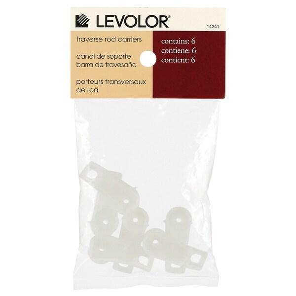 Levolor Traverse Rod Drapery Carriers