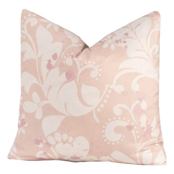 Crayola Eloise Off-white Polyester Decorative Throw Pillow