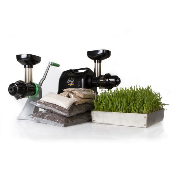 Starter Wheatgrass Kit with Electronic Juicer
