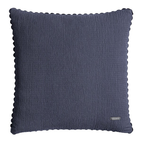 Vera Wang Indigo Pucker 20-inch Decorative Pillow