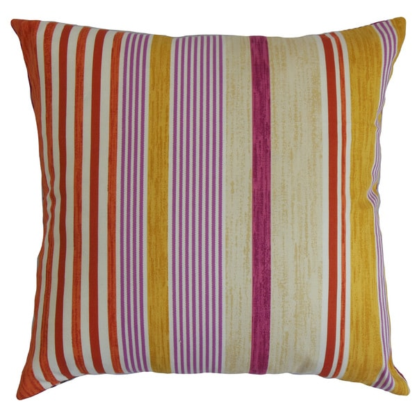 Usinsk Stripes Euro Sham Purple Neutral